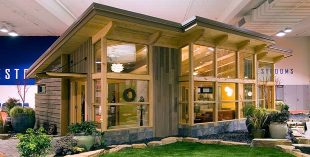 pre fab modern cabins with good design