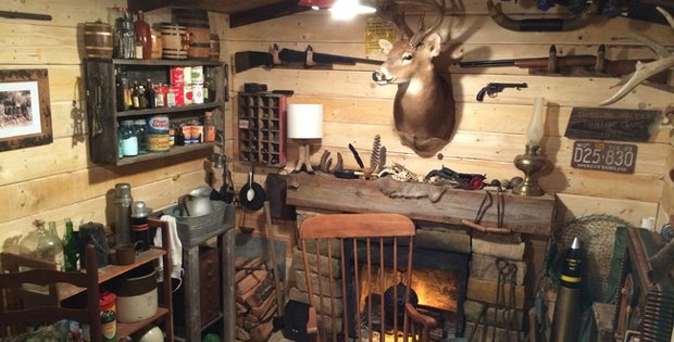 107 Log Cabin Man Cave Cabin Obsession