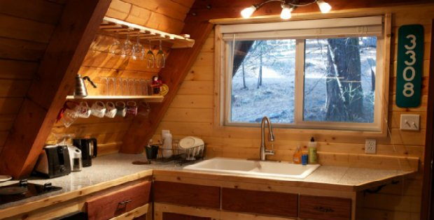 Space Saving Ideas In The Kitchen For Compact Cabins