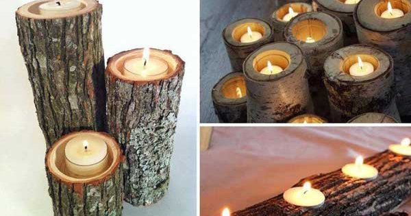 Candle of Log