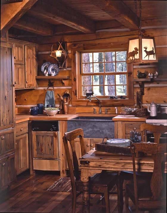 Jack-Hannas-log-cabin-kitchen