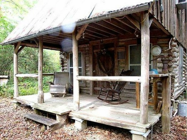 Old School Style Forest Living Cabin Obsession