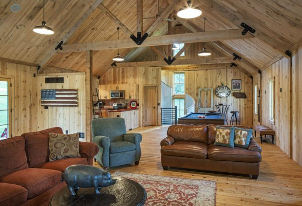 Barn Style Weekend Cabin Cabin Obsession