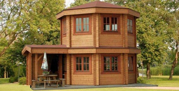 nifty prefabricated garden pavilion cabin obsession. Black Bedroom Furniture Sets. Home Design Ideas