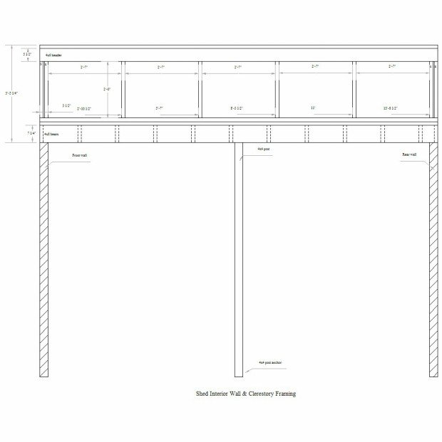 How to build a gorgeous garden shed step by step cabin for Clerestory shed plans