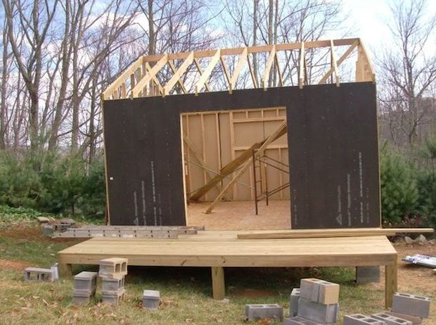 Video how to build your own mortgage free small home for How to build a cottage