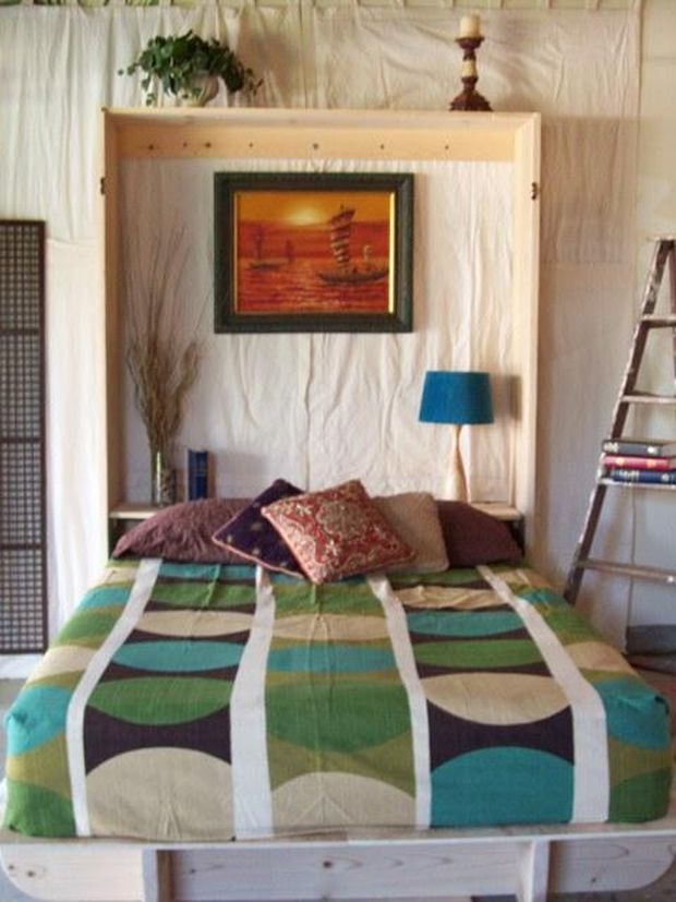 A Diy Murphy Bed For Just 275 Cabin Obsession