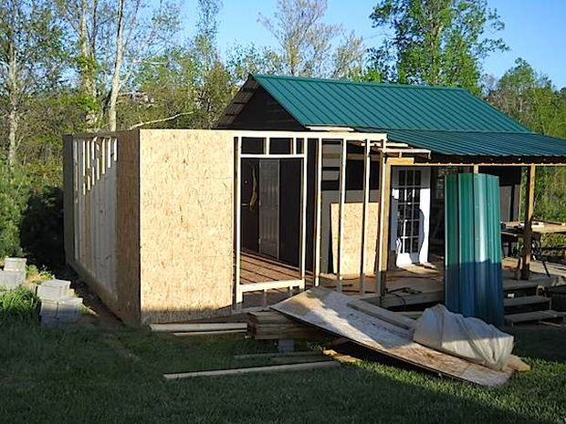 Video how to build your own mortgage free small home for Build your home