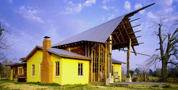 CAB-goat house