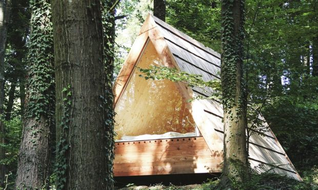 03_Lushna_Massive_glamping_wooden_cabin_outdoor_tree_closeup1-1020x610