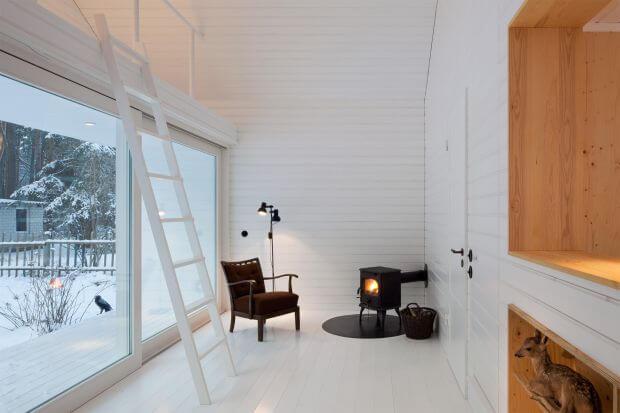 Waldhaus-Small-Cabin-Brandenburg-Atelier-ST-Living-Room-Humble-Homes