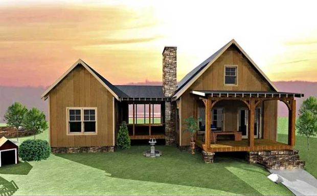 A dogtrot floor plan you 39 re going to love page 4 of 4 for Small house design texas