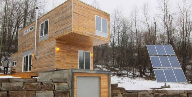 Shipping container homes that aren 39 t even shipping for Pre built shipping container homes