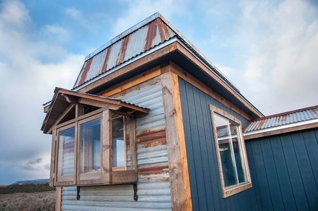 Timber frame from local sawmills to add stability and warmth throughout the home.