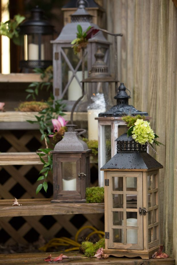 Rustic-lanterns-outdoor-decor