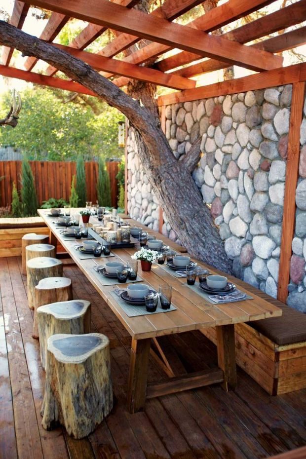 rustic-outdoor-dinner-decor