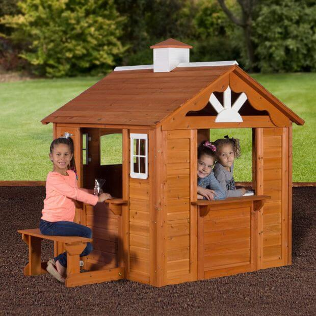 Top 9 cabin playhouses for kids cabin obsession for Kids cabin playhouse