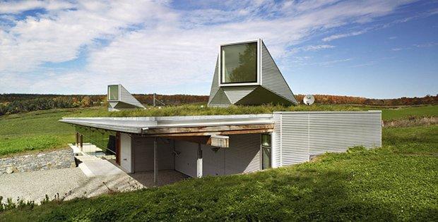 The Unique Home Built Into A Hill Cabin Obsession
