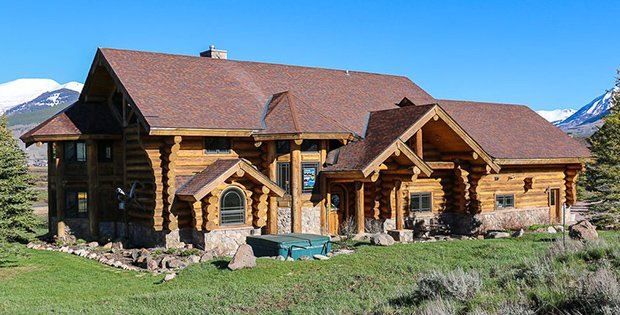 For Sale Luxury Log Home In Colorado Cabin Obsession