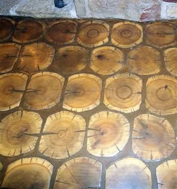 Cordwood FLOORING 02