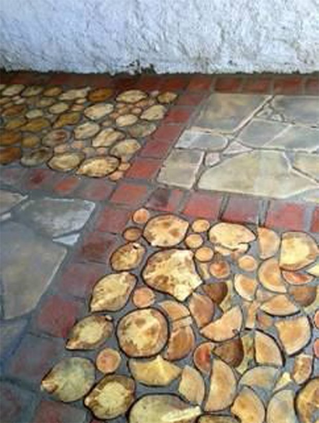 Cordwood FLOORING 04