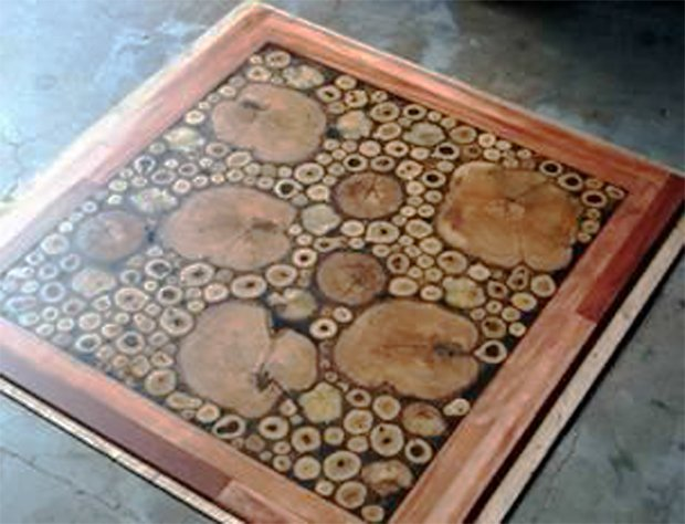 Cordwood FLOORING 11