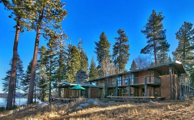 For sale a movie star lake house cabin obsession for Cheap tahoe cabin rentals