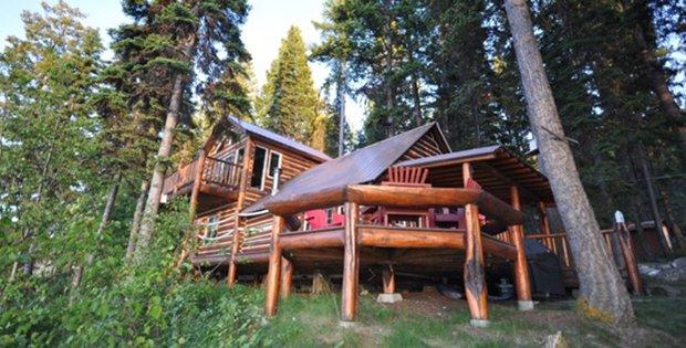 FEATURED IMAGE Ashley Lake Log Cabin 10