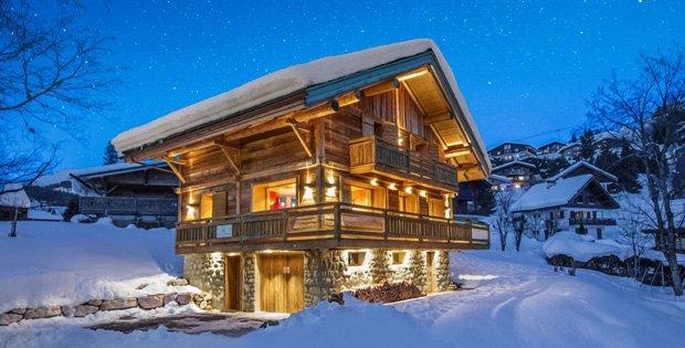 Mountain Ski Cabin in Winter | homes | Pinterest | Cabin, Barn and ...