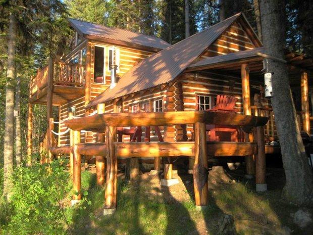 RESIZED Ashley Lake Log Cabin 06