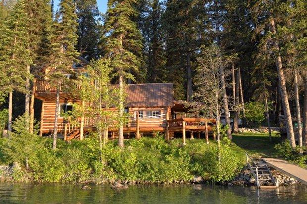 RESIZED Ashley Lake Log Cabin 14