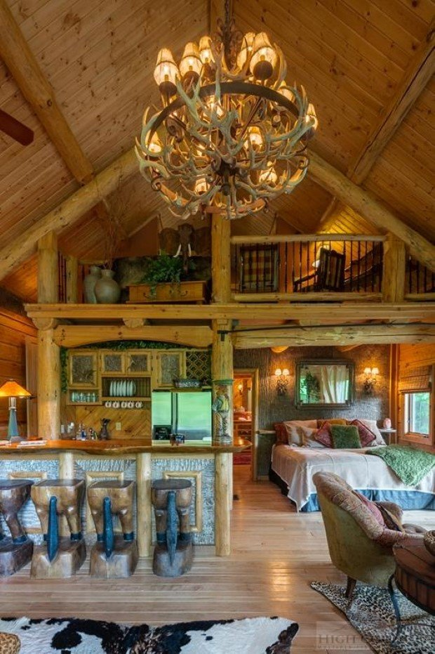 for sale traditional log home with eclectic decor cabin obsession