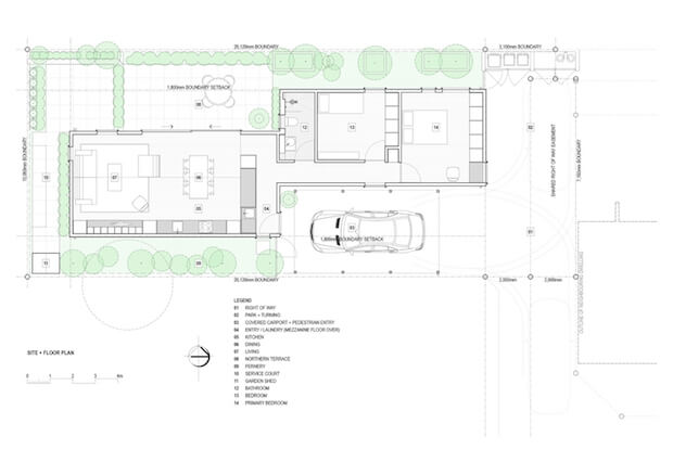 Site + Floor Plan _ Layout
