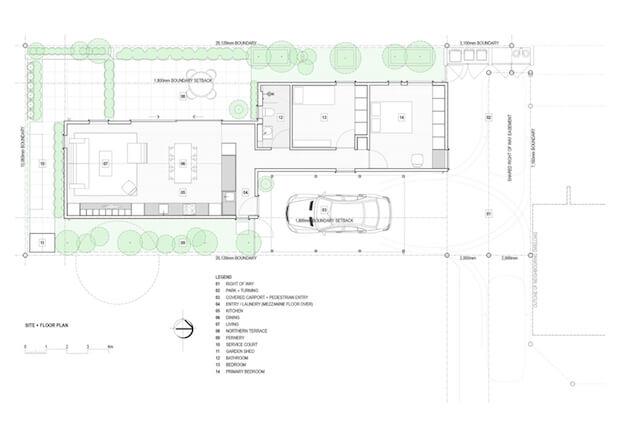 Site + Floor Plan _ Layout