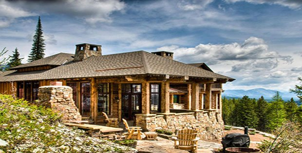 FOR SALE The Luxurious Dream Log Cabin Has Never Looked Better