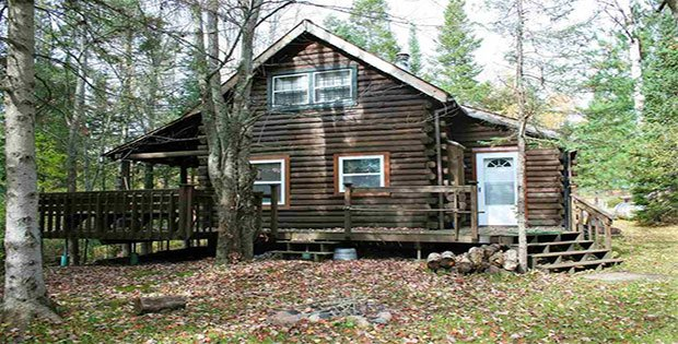 For Sale A Log Cabin In The Woods For Under 90k