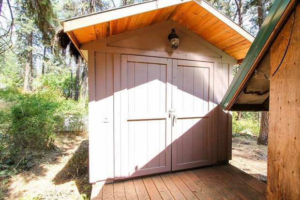 For Sale A Frame Cabin With A 900 Square Foot Deck