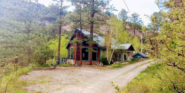 For sale secluded mountain home for sale cabin obsession for Secluded mountain homes for sale