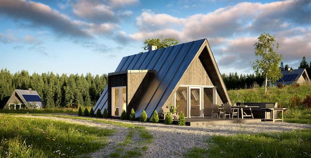 Convenient And Efficient A Frame Homes Cabin Obsession