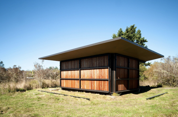 THIS CABIN CAN BE SHUTTERED UP WHEN NOT IN USE