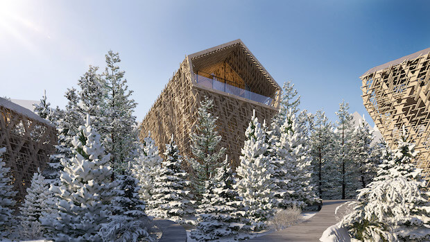Check Out These Luxurious Alpine Treehouses
